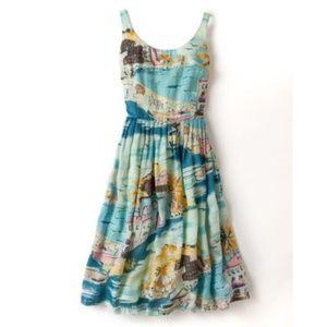 NWOT Boden Nancy Blue Riviera Dress - Sz 8R